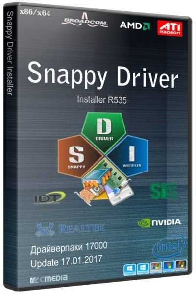 Snappy Driver Installer R535 ISO For All Windows [Latest] Free