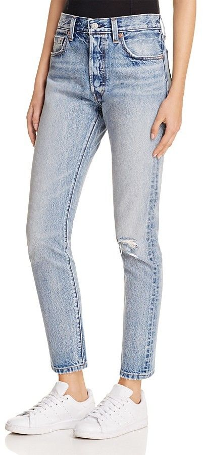 f02dbd4f3c0 Levi's 501® Skinny Jeans in Summer Dune | Fashion | Jeans, Fashion ...