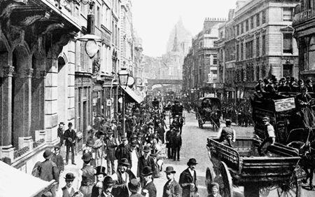 Fleet Street 1890,