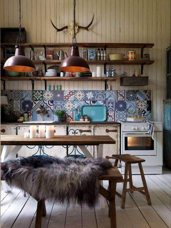 So zauberst du den Orient zu dir nach Hause! - küche fliesen ideen