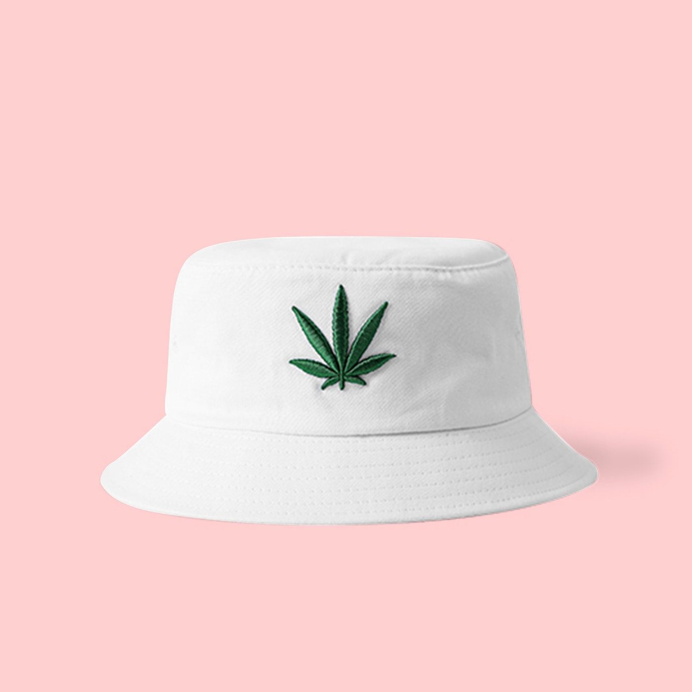 UNISEX 420 WEED BUCKET HAT IN WHITE by NOT OK CORP UNISEX 420 WEED BUCKET  HAT IN WHITESIZE  56-58CMFREE SHIPPING WORLDWIDE 0015af92ba5b
