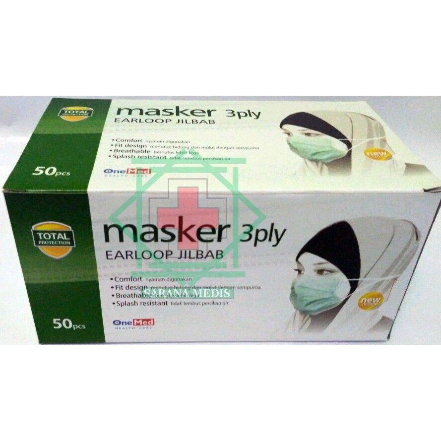 Masker Jilbab Hijab 3ply Earloop Alat Kesehatan Pinterest Saya Menjual Seharga 2150000 Dapatkan Produk Ini Hanya