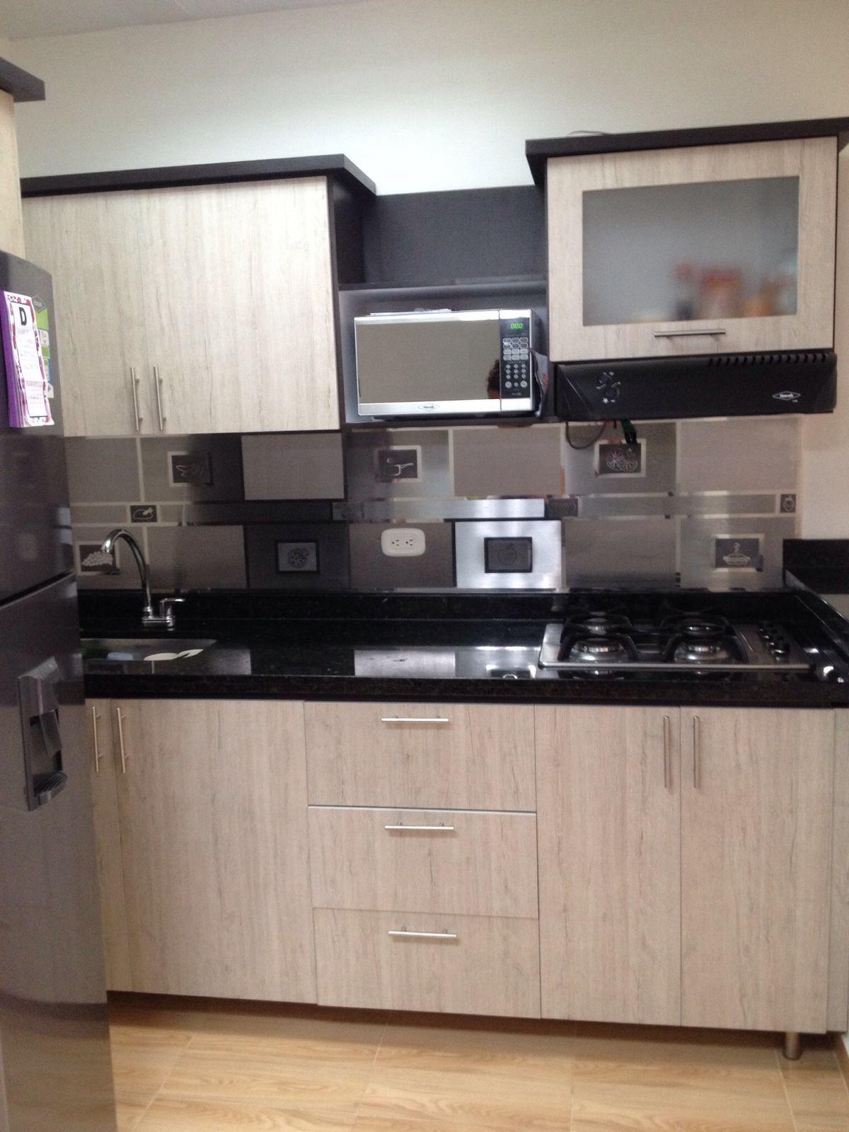 Fabricado Por C G Arte Y Decoraci N Cocina Integral Cocinas  # Muebles Dosquebradas
