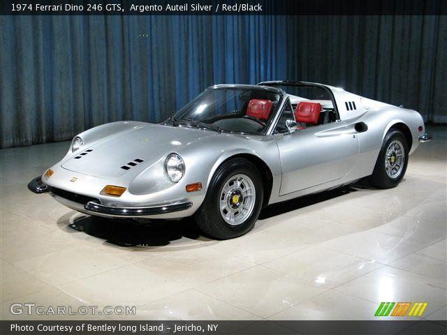 1974 Ferrari 1974 Ferrari Dino 246 Gts In Argento Auteil Silver