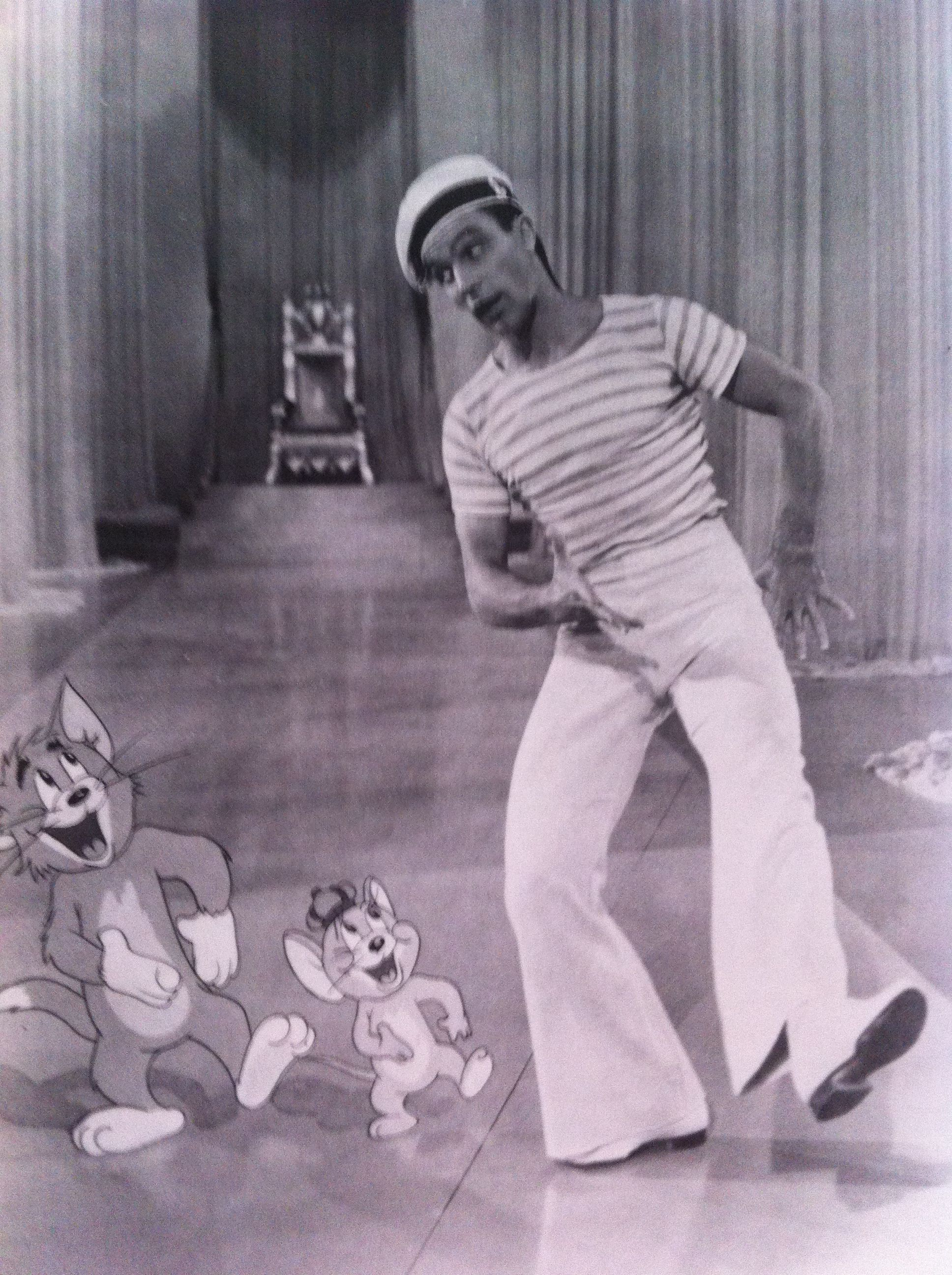 Gene Kelly was the first to do many things-including dance with a ...