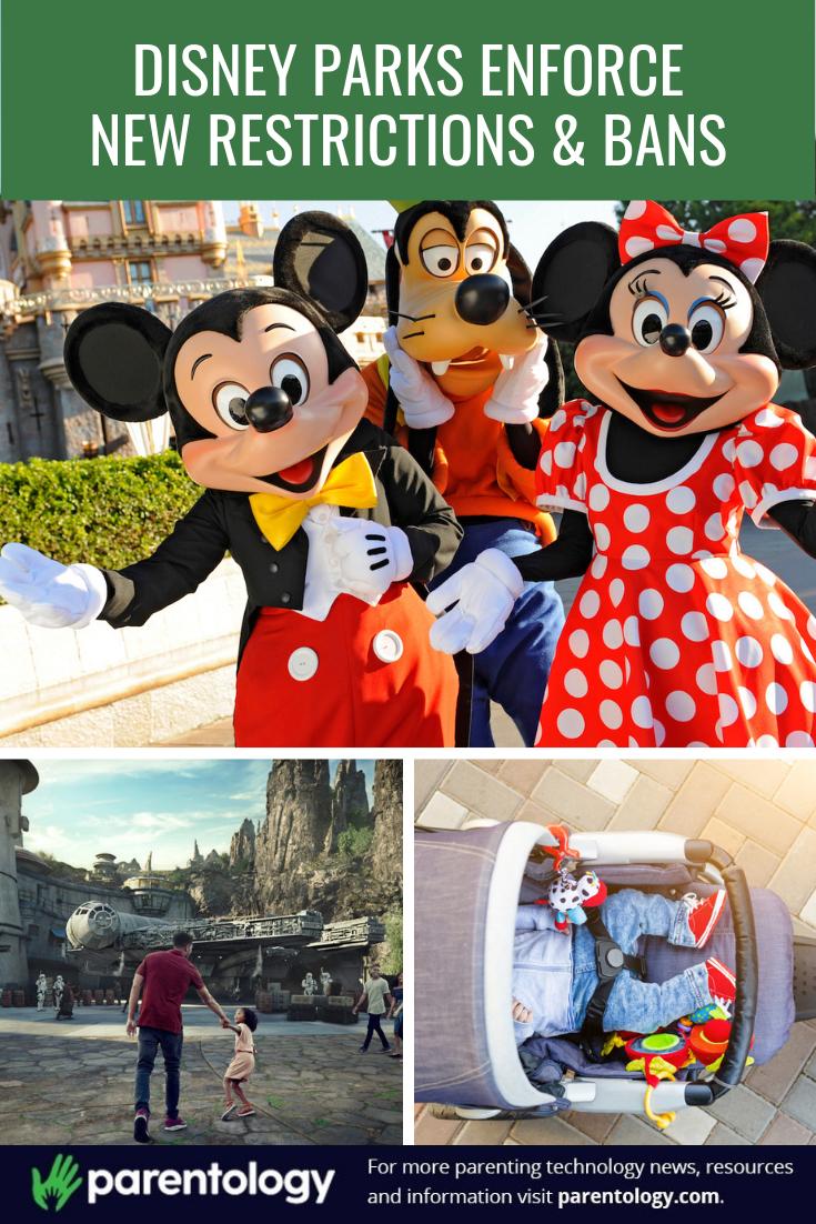 Disney Parks Enforce New Restrictions Bans Disney Parks Disney Disney Theme Parks