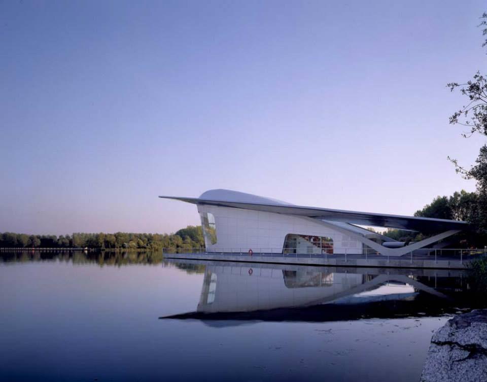 The HydraPier Pavilion; Asymptote Architecture