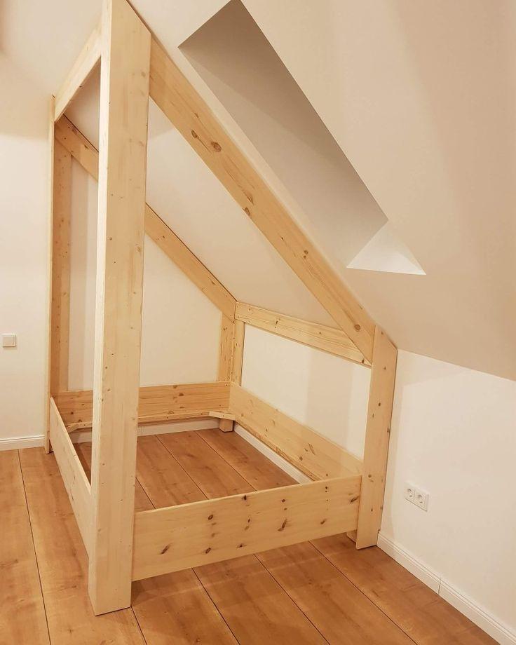 Photo of Hausbett Dachneigung – Bunk beds – #Beds #Bunk #Dachneigung #Hausbett – Bett ideen