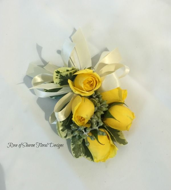 Yellow rose corsage rose of sharon floral designs yellow rose yellow rose corsage rose of sharon floral designs mightylinksfo
