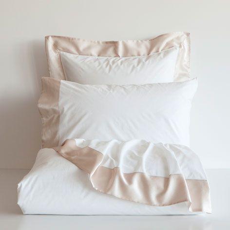 sÁbanas y fundas contraste seda - sábanas y fundas - cama   zara