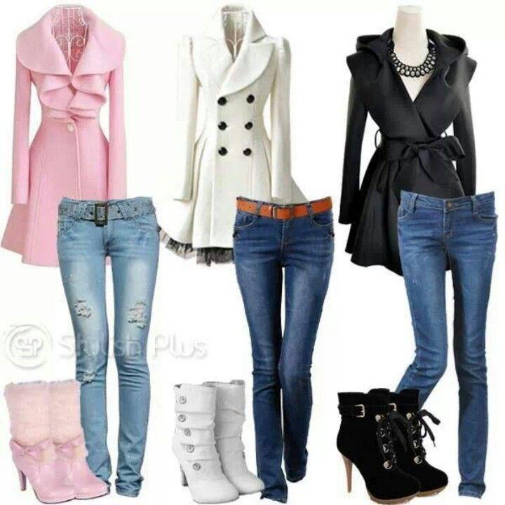 Love all three coats!