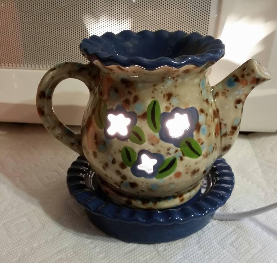 Electric teapot wax warmer tea pots wax warmer
