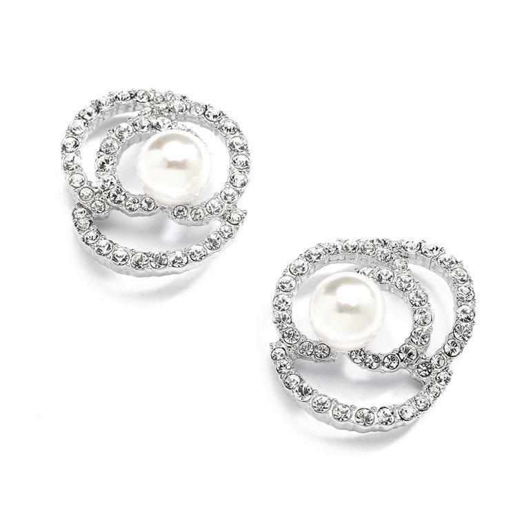 Boucle d'oreille swarovski diamanta