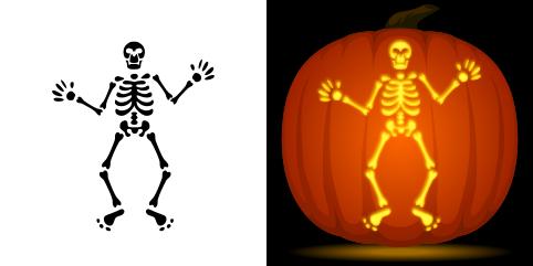 pumpkin template skeleton  Pin about Pumpkin stencil and Skeleton pumpkin on Pumpkin ...