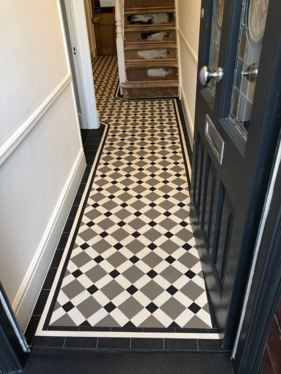 Victorian Geometric Floor Tiles