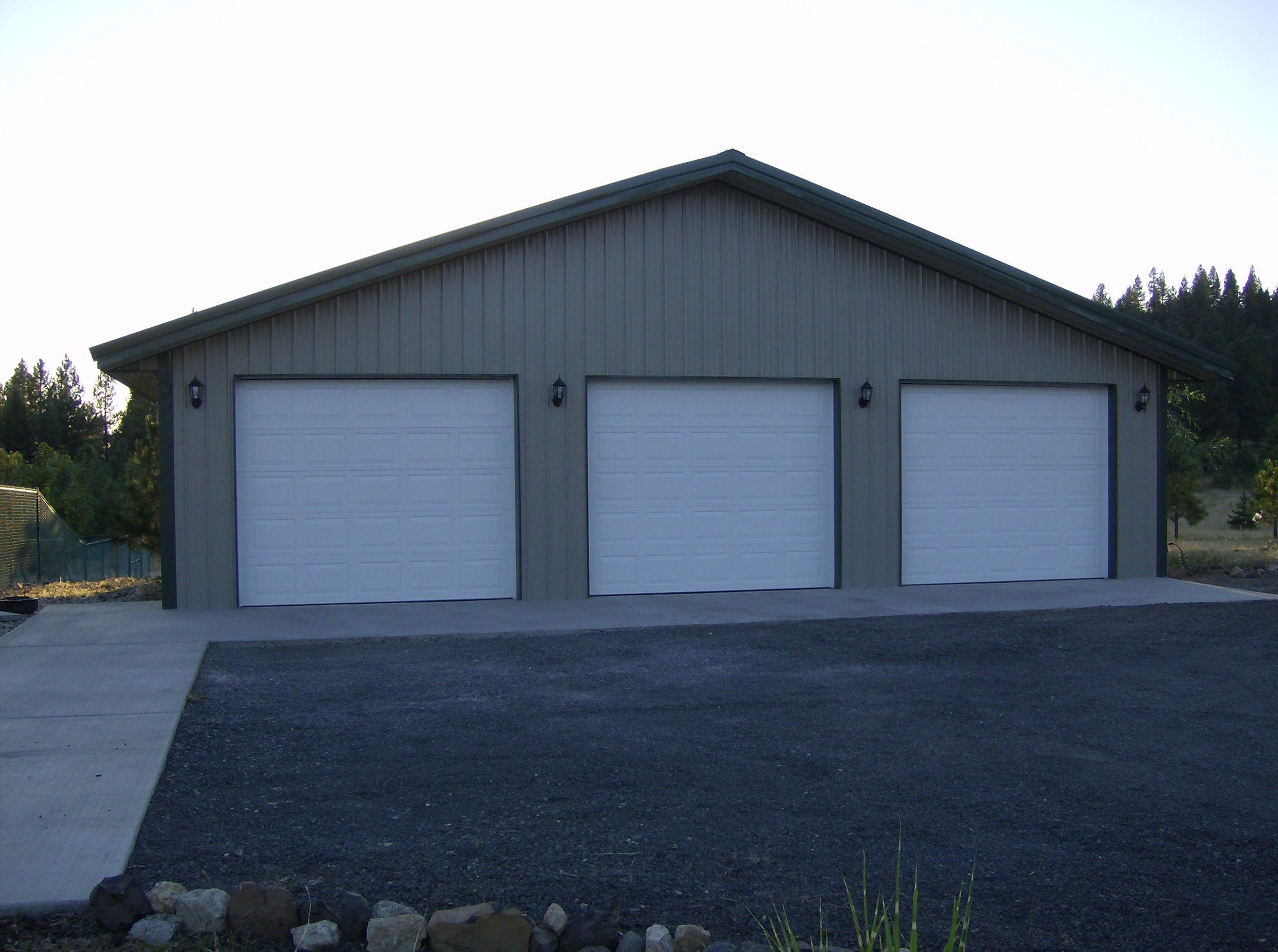 Pole Building Kits Metal Pole And Barn Garage On Pinterest