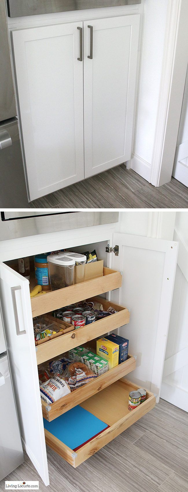 The best Kitchen Cabinet Organization Ideas! This Modern Farmhouse ...