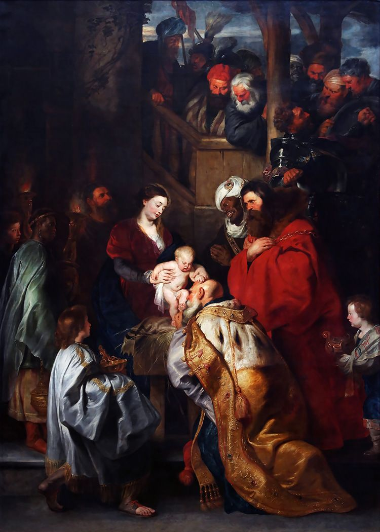 Adoration Of The Magi By Peter Paul Rubens Christmas Peter