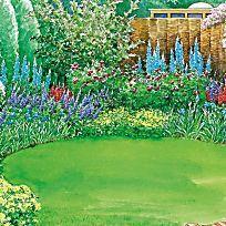 Viel Garten für wenig Geld   Sichtschutz, Schöne gärten und Teuerste