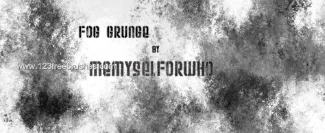 Fog Grunge - Download  Photoshop brush http://www.123freebrushes.com/fog-grunge/ , Published in #GrungeSplatter. More Free Grunge & Splatter Brushes, http://www.123freebrushes.com/free-brushes/grunge-splatter/ | #123freebrushes