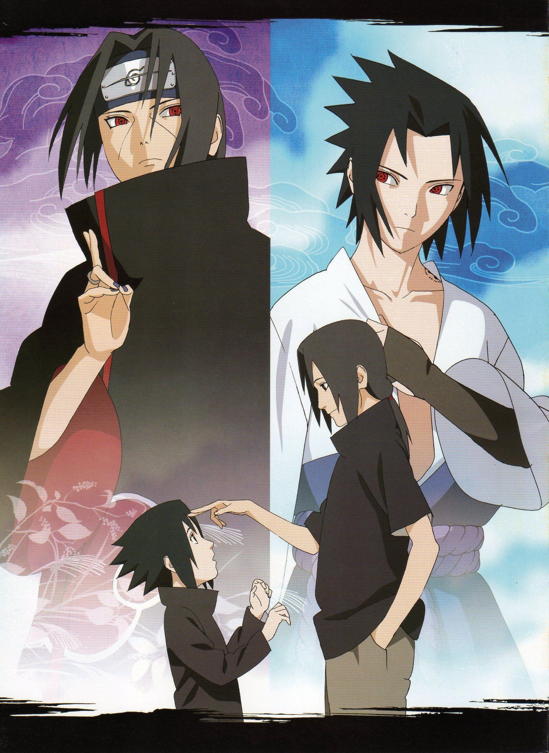 Sasuke and Itachi | Uchiha's of Naruto | Itachi uchiha