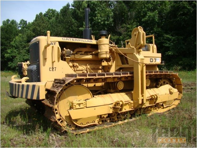 Throwbackthursday Check Out This 1956 Caterpillar D7c