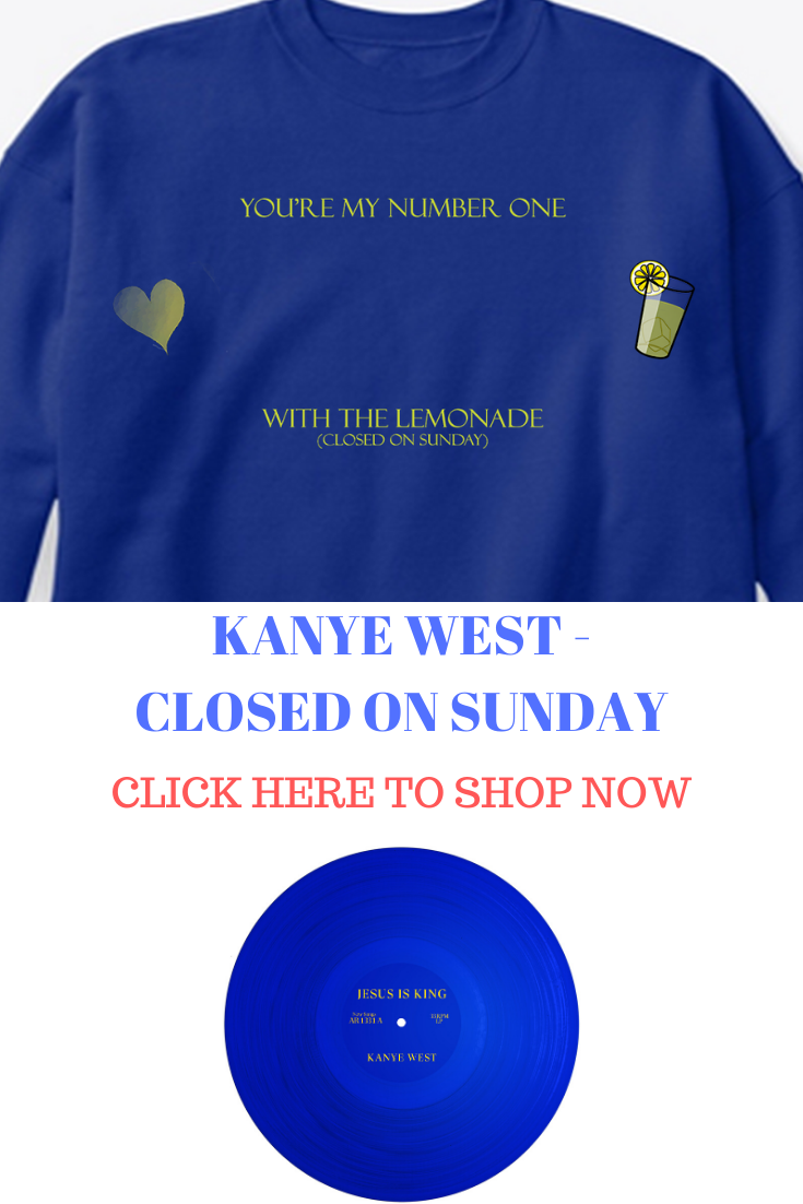 Jesus Is King Closed On Sunday Kanye West Merch Merchandise King Jesus