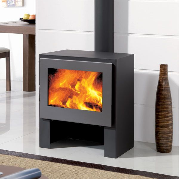 Panadero Boston - 11kw Contemporary Wood Burning Stove - £700.00 - Modern Wood Burning Stoves Modern Wood Burning Stove From Future