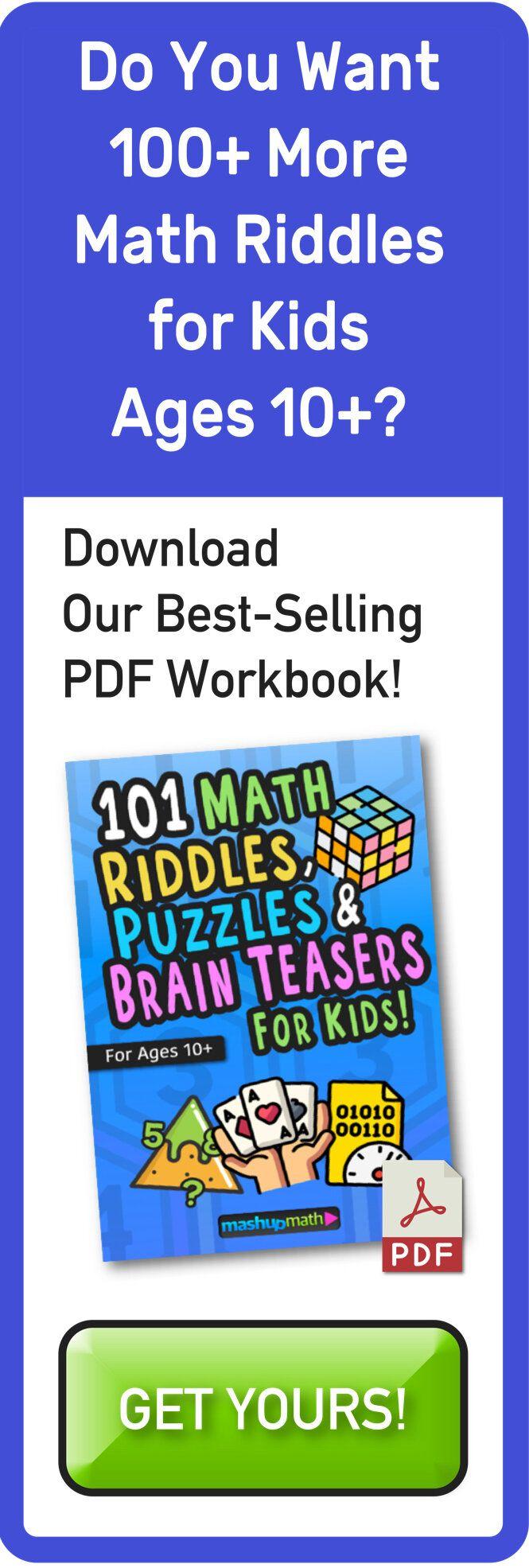Free Math Puzzles — Mashup Math in 2020 Math riddles