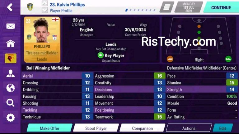 Football Manager 2020 Mobile Fm 20 11 3 0 Apk Obb Unlocked Ristechy In 2020 Football Manager Football Free Football