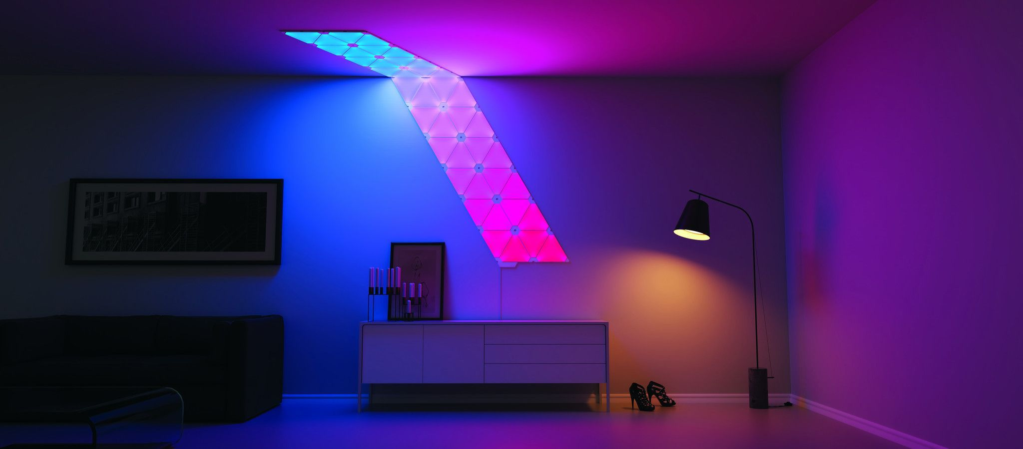 Nanoleaf Aurora Smarter Kit - 9 Panels- NL22-0001TW-9PK | ***Awesome ...