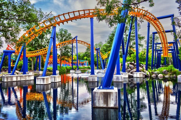 CAROWINDS THEME PARK If you're ever in SC or NC, this is