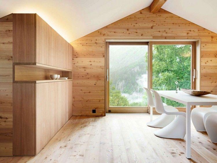 Isolation thermique en bois de mélèze du0027un chalet en Suisse Apartments - prix d un garage en bois