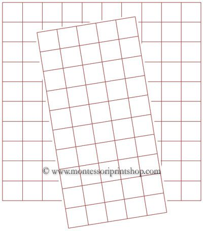 Free Graph Paper Half Inch  Printable Montessori Math Graph