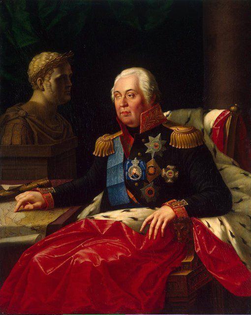 Эрмитаж :: Oleszkiewicz Joseph - Portrait of Mikhail Kutuzov (Golenishchev-Kutuzov Prince of Smolensk) - JRX-2229