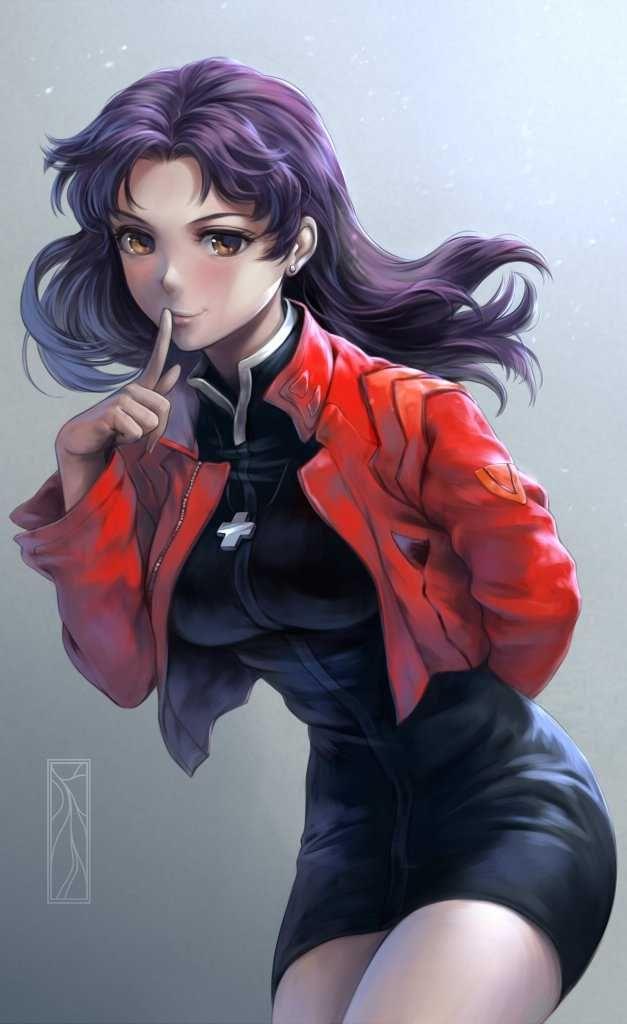 Evangelion, Misato, by kotikomori | Neon genesis
