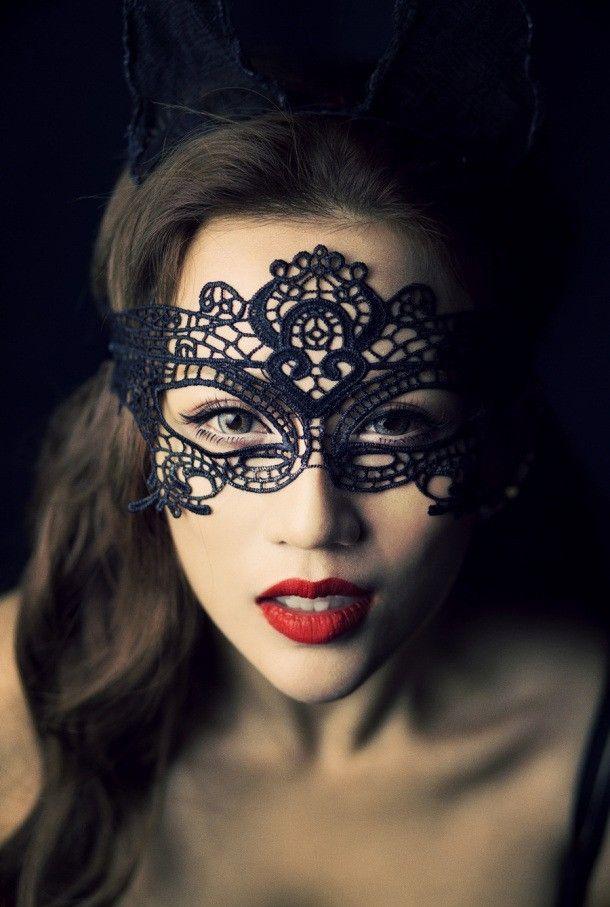 20 Halloween Mask Makeup Ideas | Mask makeup, Halloween masks and Lace