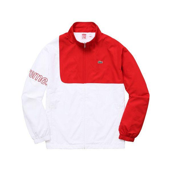 Supreme Supreme Lacoste Track Jacket 185 Liked On Polyvore