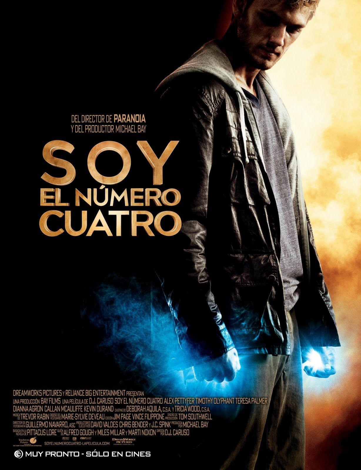 I Am Number Four Poster Peliculas Soy El Numero Cuatro Buenas Peliculas