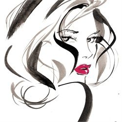 Best Collection of Beauty Illustrations - Top Illustrators & Artists