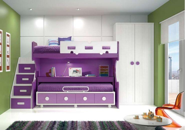 Dormitorios infantiles literas dise o de interiores literas pinterest dormitorios - Literas de diseno ...