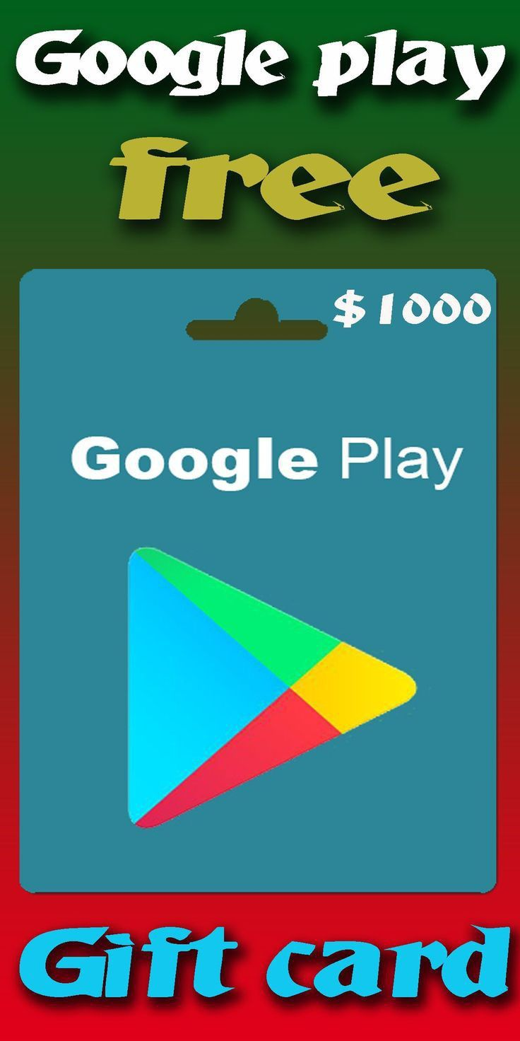 100 free google play gift card giveaway google play
