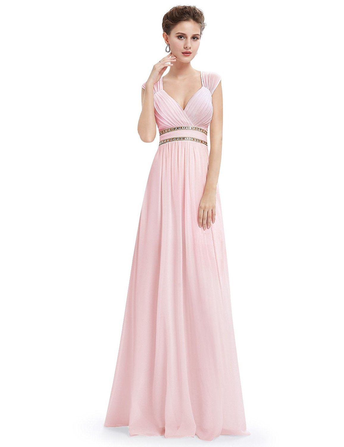 Amazon Ever Pretty Womens Sleeveless Grecian Style Prom Dress 08697 Clothing