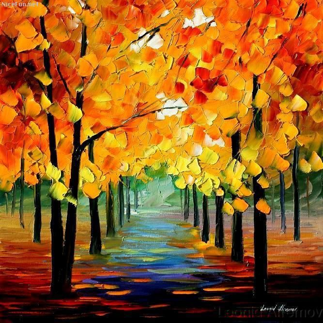 What's Your Favorite Thing About Autumn?   Autumn painting
