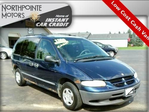 2000 Dodge Caravan Passenger Minivan For Sale Under 1000 Michigan