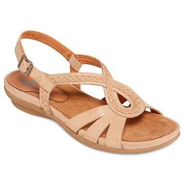 Yuu Azora Slingback Comfort Sandals Jcpenney Wish