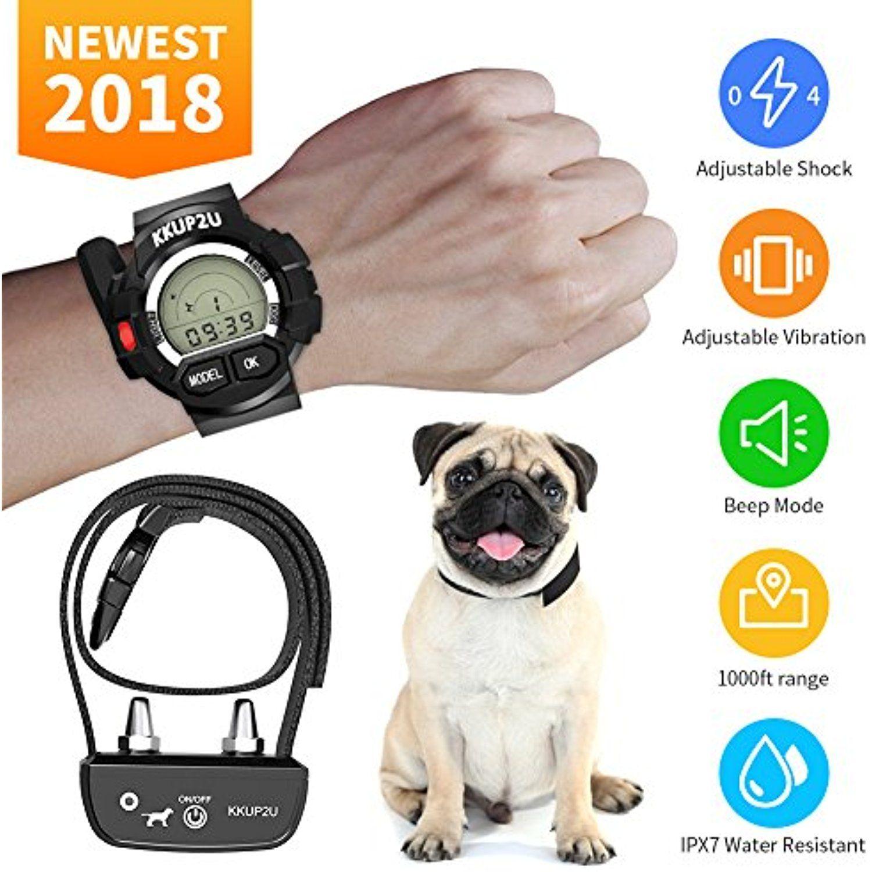 Dog Training Collar Kkup2u Rechargeable And Waterproof Beep