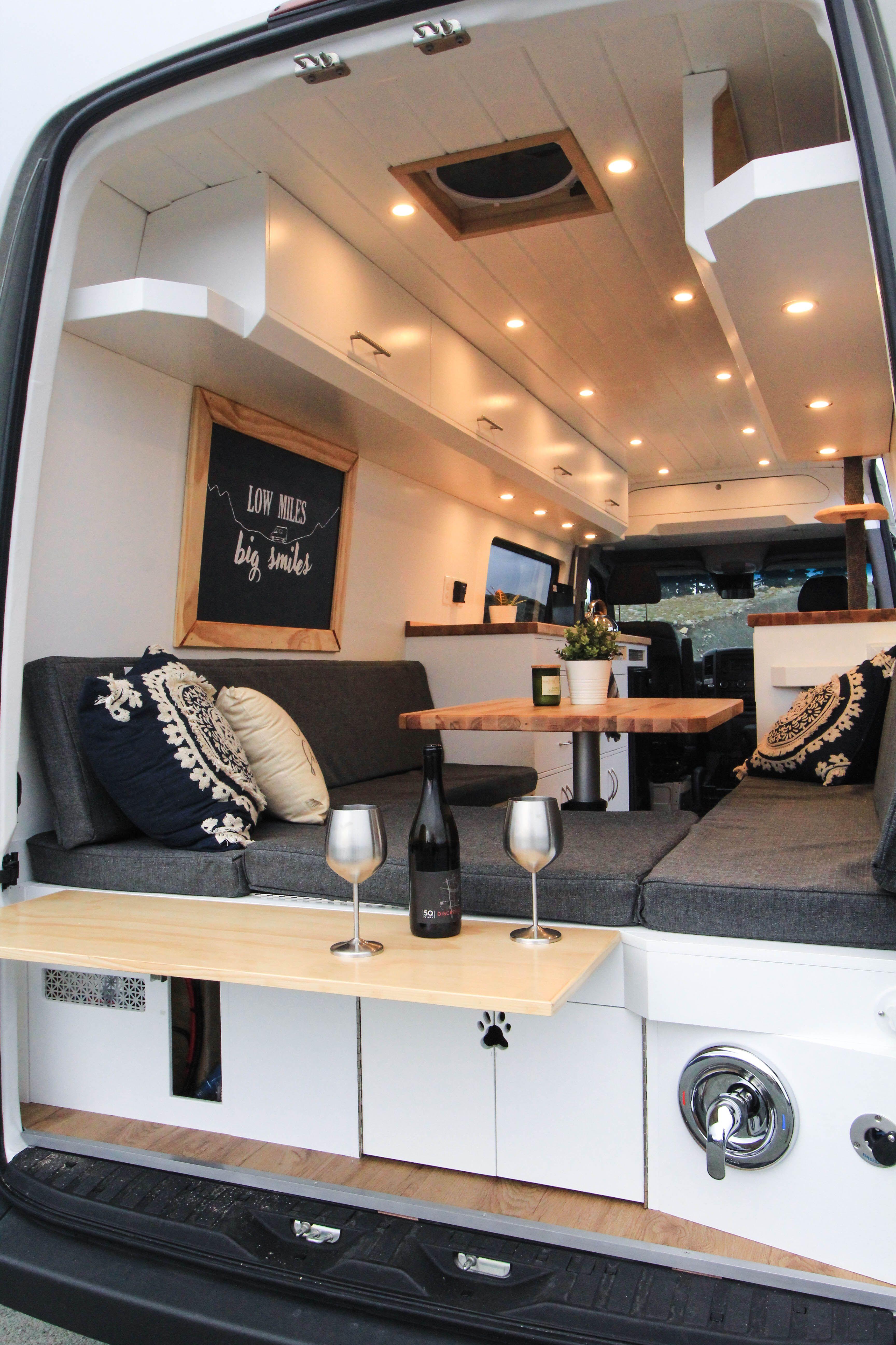The Big Gigantic Freedom Vans Van Life Diy Van Interior Van Conversion Interior