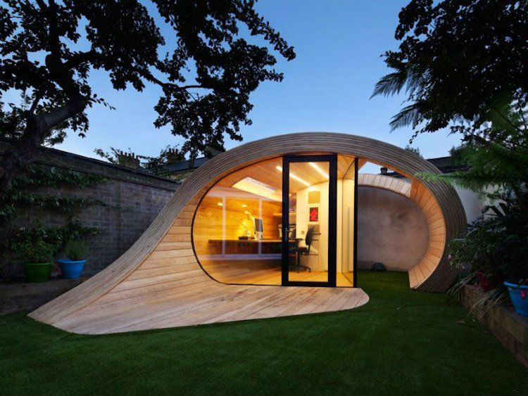 Chalet de jardin habitable – alternatives pour gagner surface ...