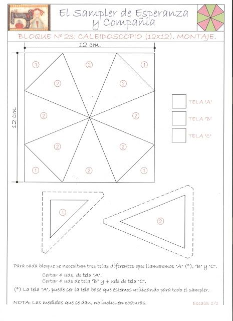 Pin de creaciones mam en patrones de colchas patrones de - Patrones para colchas de patchwork ...